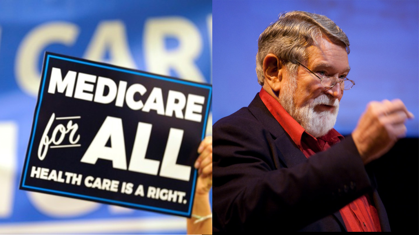 Medicare for All lies & Dr. David Korten on the great American myth.