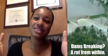 Her Cameroon & COVID-19 experience speaks volumes. Breaking Dams, America's rotting