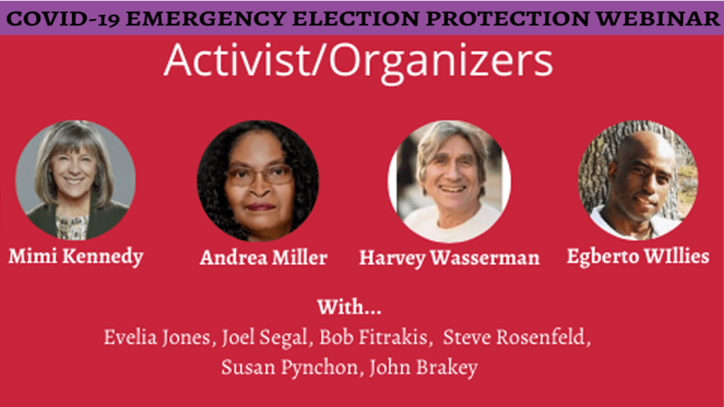 COVID-19 Emergency Election Protection Webinar