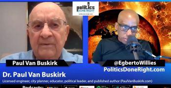 Dr. Paul Van Buskirk, city planner, educator, & author talks defund the police & more