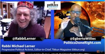 Rabbi Michael Lerner discusses the necessary progressive path to win others over