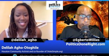 Delilah Agho-Otoghile, community activist and co-founder of VoteSimple org discuss voting & more