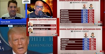 TX Candidate shows how it's done. I still say Biden landslide. Trump, Commander-In-Thug