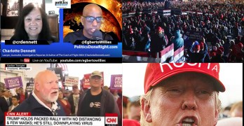 Trump cult may not be his at all - Charlotte Dennette on oil & war