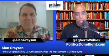 Alan Grayson discusses misplaced attacks by Democrats against Progressives over Election 2020