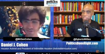 Congressman Alan Grayson & Indivisible Houston President Daniel Cohen talks Election 2020