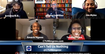Can't Tell Us Nothing, a conversation with a Houston Improv Comedy Troupe.