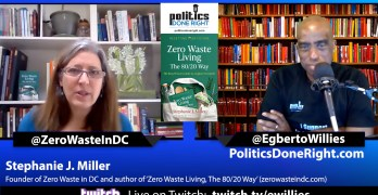 Stephanie J. Miller, discusses zero waste living the 80-20 way