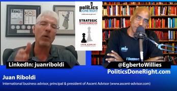 Juan Riboldi discusses the immigrant experience & Strategic Transformation