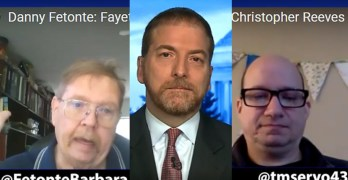 Danny Fetonte fights coal ash, Chuck Todd slams GOP, DNC Christopher Reeves on Red States (KPFT)