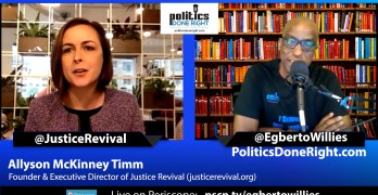 Justice Revival founder Allyson McKinney Timm redefines current faith movement.