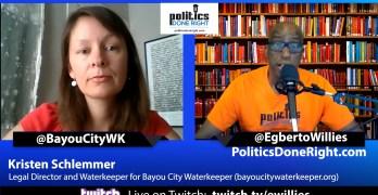 Bayou City Waterkeeper's Kristen Schlemmer is proof that grassroots organizing work