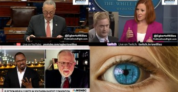 Schumer slam GOP on voting rights, Southern Baptist called out, Psaki neuters Fox News Doocy