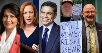 Texas Reps in DC & local activist fight voter suppression. Fareed Zakaria & WH reporters on COVID