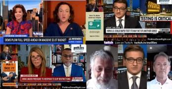End the corporate healthcare scam, Eddie Glaude tells a Democratic truth, Katie Porter v. Manchin