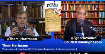 Thom Hartmann on the Hidden History of American Healthcare - Medicare Advantage is a fraud.