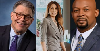 Al Franken gets real with Dems. Marie Pizano on finding your YES. Rev. Markel Hutchins on policing.