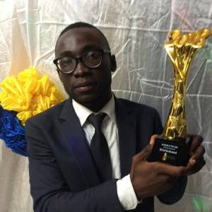 Ellis Ferdinand won 2018 National Students Award as Blogger of the Year