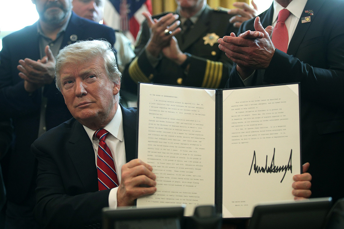 Trump Vetoes 'No Emergency' Resolution, Boeing & the FAA, Trump's Budget, Beto's In, College Admissions Scandal