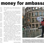 Downtown Ambassadors: Subsidizing the Thug Class