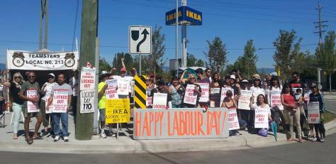 Happy Labour Day means building solidarity!