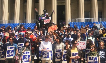 Reports from the Picket Line: Columbia Graduate Workers on Strike