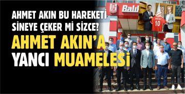 CHP İL BAŞKANI SERKAN SARI, AHMET AKIN'I İŞTE BÖYLE EZDİ!