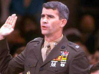 Oliver North Swearing in