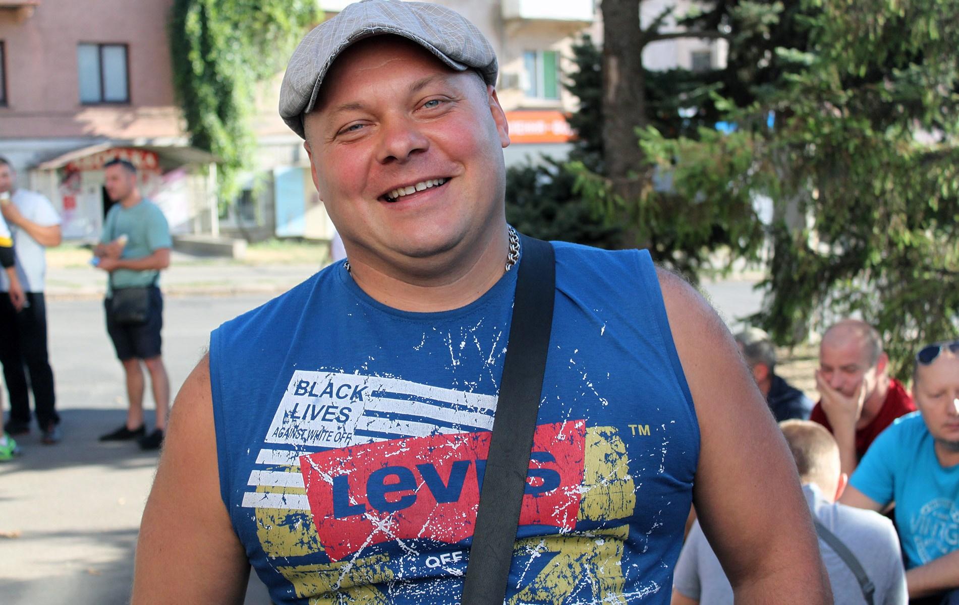 Шахтарі Кривого Рогу протестують під КЖРК