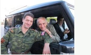 Лановой в Донбассе