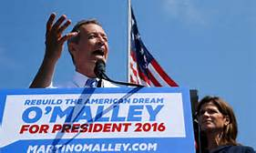 Martin O'Malley announces his run for the Presidency