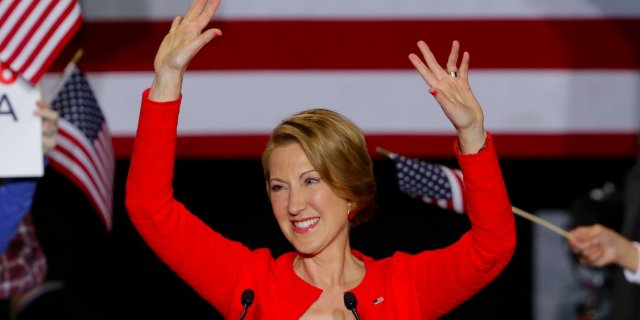 Carly Fiorina announces her run for the Presidency