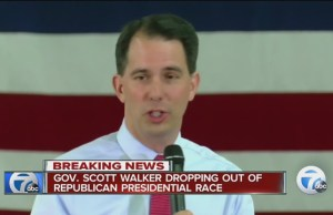 Scott Walker dropping out of the race for President