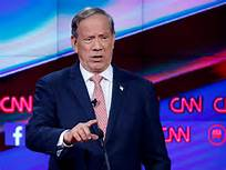 George Pataki announces his run for the Presidency - Former New York Governor George Pataki