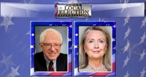 Hillary Clinton Bernie Sanders TIE Iowa