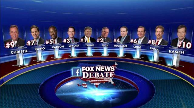 Who won the Fox Republican Debate?