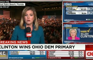 Hillary Clinton wins Ohio.
