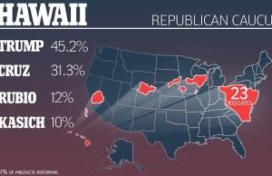 Donald Trump Wins Hawaii