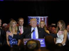 Donald Trump Presumptive Republican Nominee