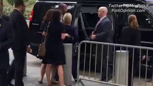 Clinton Collapses