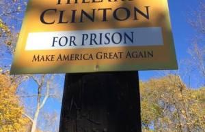 Sign Hillary Clinton's street