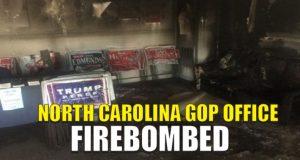 Firebombed