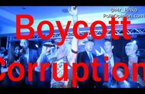 BOYCOTT CORRUPTION
