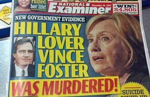 Hillary Clinton lover Vince Foster Murder