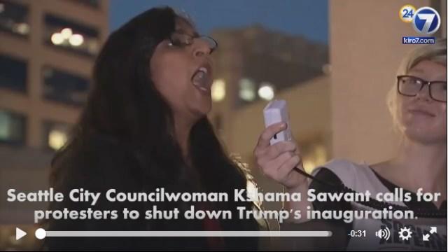 Seattle Councilwoman Calls