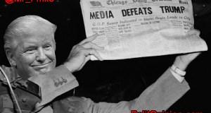 MEDIA DEFEATS TRUMP