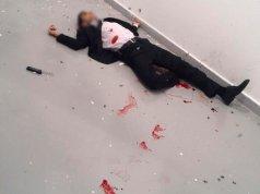 New video Russian ambassador shot dead