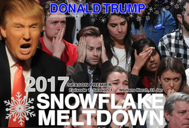 New Trump Reality TV Show - Snowflake Meltdown