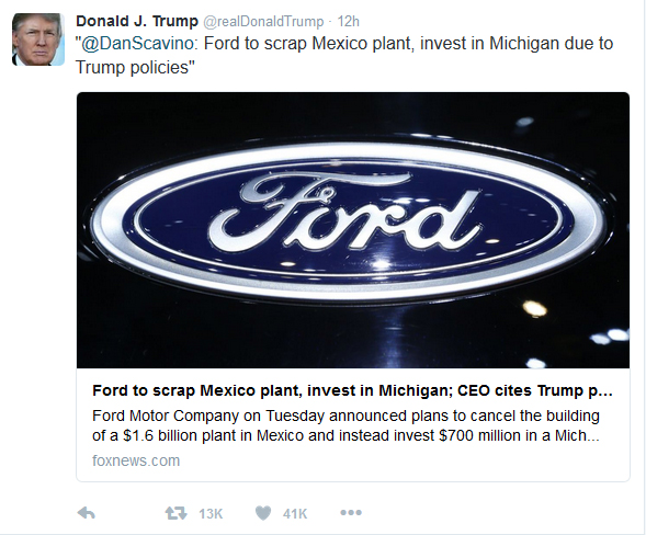 Ford cancels
