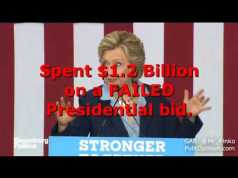 "Hillary spent what - ""What kind of genius loses a billion dollars in a single year?"""